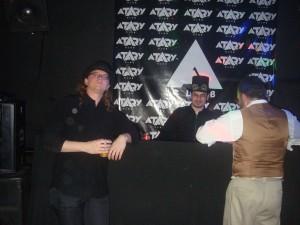 DJ tocando todas